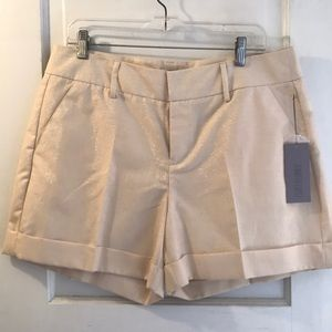 Jennifer Lopez white gold shorts
